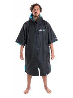 Dryrobe Dryrobe Short Sleeve Schwarz-Blau