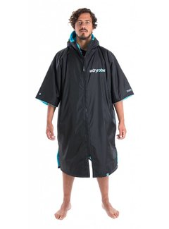 Dryrobe Dryrobe Shortsleeve Black-Blue