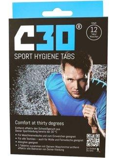 C30 C30 Sport Hygiene Tabs Sportwasmiddel (12 stuks)