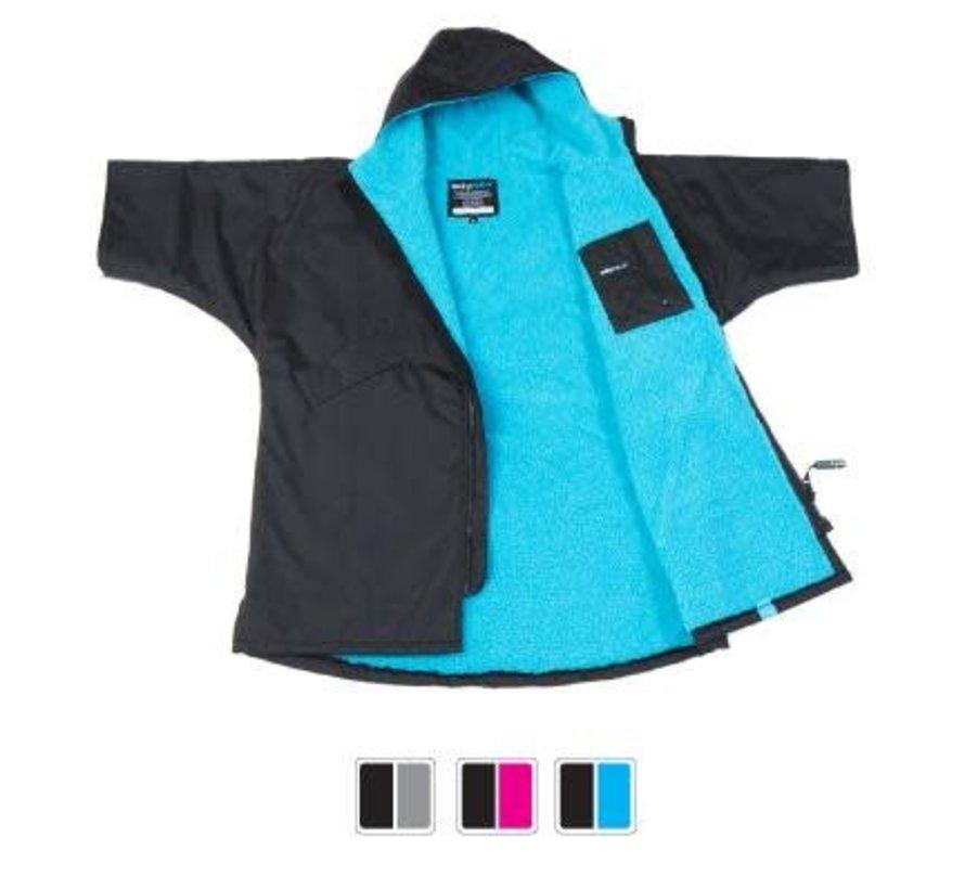 Dryrobe Shortsleeve Black-Blue