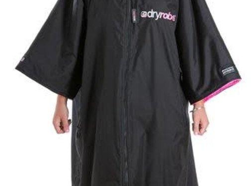 Dryrobe Dryrobe Shortsleeve Black-Pink