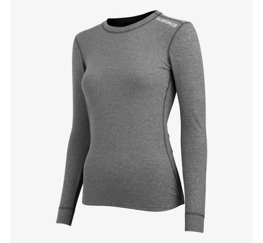 Fusion C3 Sweatshirt Greymelange Frauen