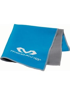 McDavid McDavid uCool Cooling Handtuch Neon Blau