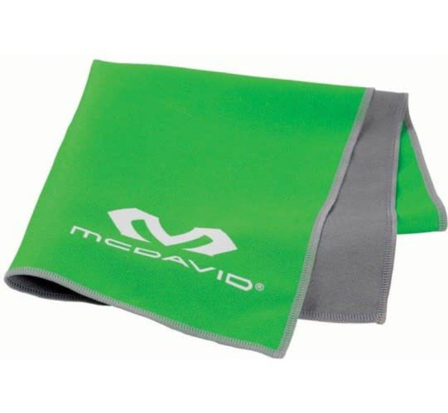 McDavid uCool Cooling Towel Neongroen