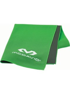 McDavid McDavid uCool Ultra Cooling Handdoek Neongroen