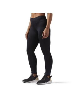 Reebok Reebok Workout Ready Legging Dames Zwart