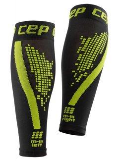 CEP CEP nighttech calf sleeves, green, men