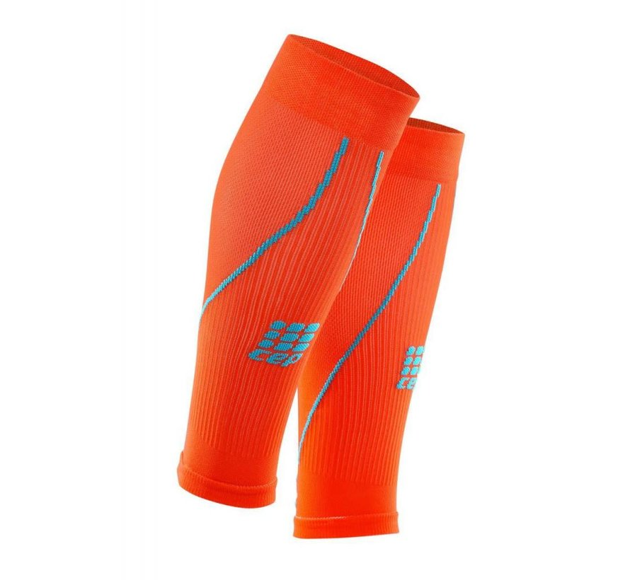 CEP pro + calf sleeves 2.0, sunset / hawaii blue, men