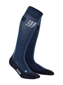 CEP CEP pro+ run merino socks, navy/black, men