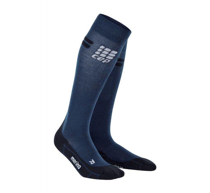CEP Pro + Run Merino Socken, marine / schwarz, Herren