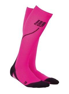 CEP CEP pro+ run socks 2.0, pink/black, women
