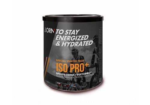 Born Iso Pro + Elite Peptopro Sportgetränk Special Starter Pack