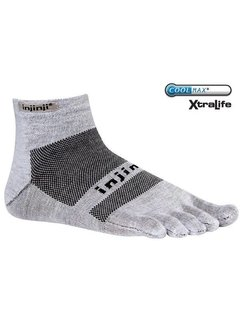Injinji Injinji Run Lightweight MC Xtralife Grijs