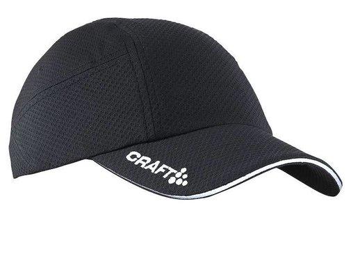 Craft Craft Run Cap Zwart