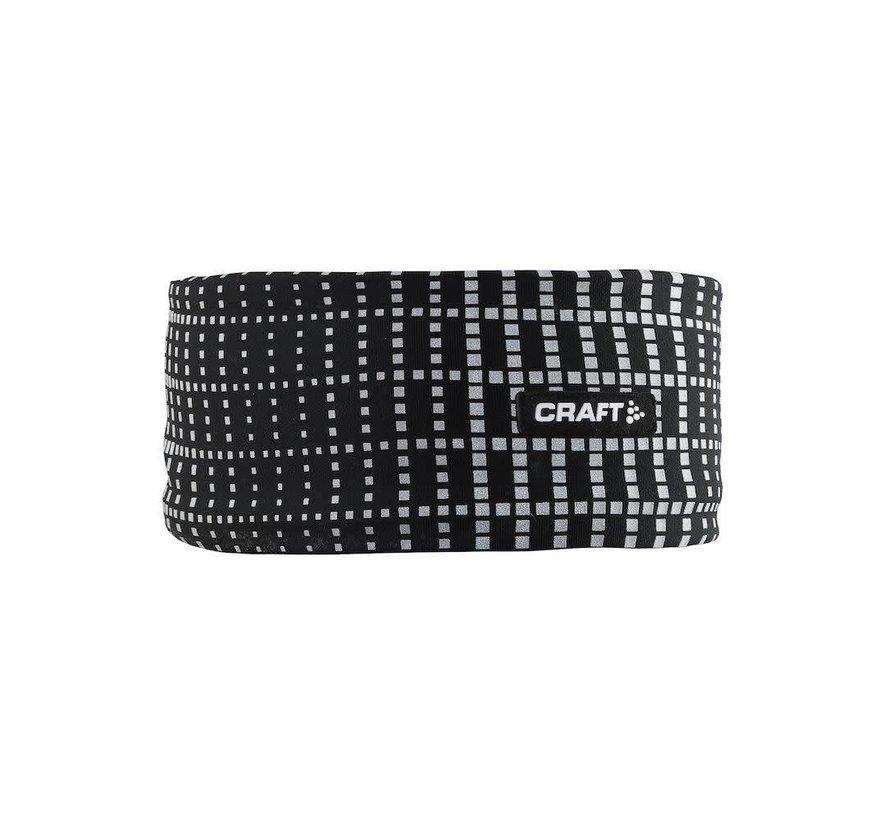 Craft Brilliant Stirnband Schwarz Reflektierend