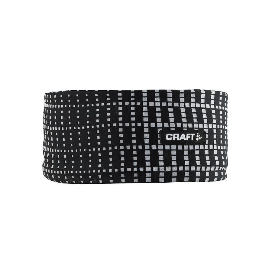 Craft Brilliant Headband Black Reflective