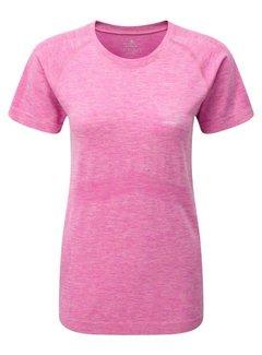 Ron Hill Ron Hill Dames Infinity Marathon T-shirt Roze
