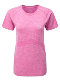 Ron Hill Ron Hill Ladies Infinity Marathon T-shirt Pink