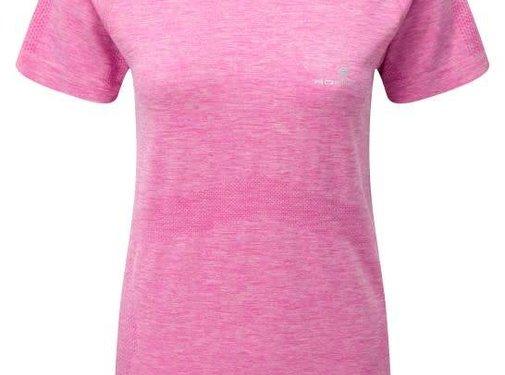 Ron Hill Ron Hill Ladies Infinity Marathon T-shirt Pink