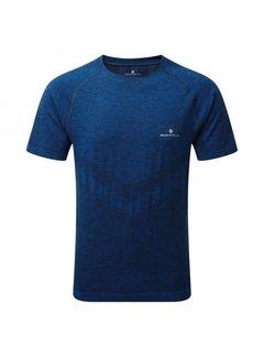 Ron Hill Ron Hill Heren Infinity Marathon T-shirt Blauw