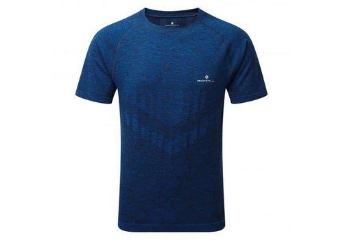 Ron Hill Men Infinity Marathon T-shirt Blue