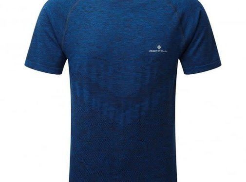 Ron Hill Ron Hill Men Infinity Marathon T-shirt Blue