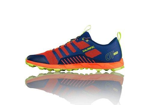 Salming Off Trail Comp Women's Shoe Orange / Blue