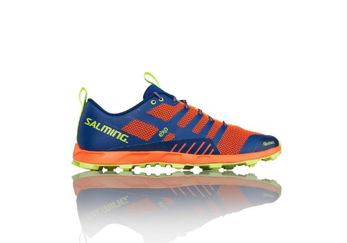 Salming Off Trail Comp  Herenschoen Oranje/Blauw