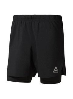 Reebok Reebok Running 2-in-1 Short Black Men