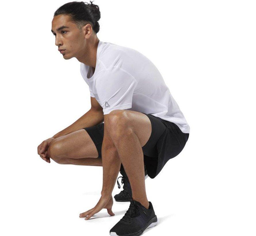 Reebok Running 2-in-1 kurze schwarze Männer