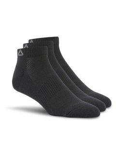 Reebok Reebok Sport Essentials No Show Sokken Zwart (3 paar)
