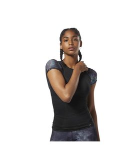 Reebok Reebok Activchill Compression Shirt mit kurzen Ärmeln Damen