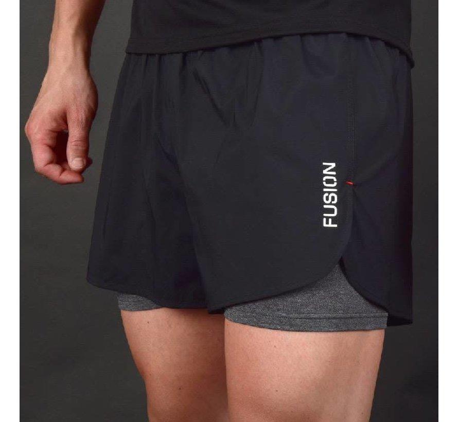 Fusion C3 + 2-in-1 Run Shorts