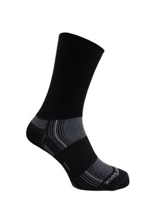 Wrightsock Wrightsock Stride Crew Black Midweight