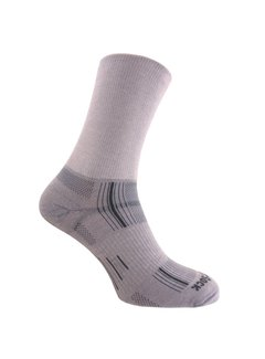 Wrightsock Wrightsock Stride Crew Light Gray Midweight