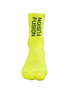 Fusion Fusion PWR Cycle Sock CLX Yellow