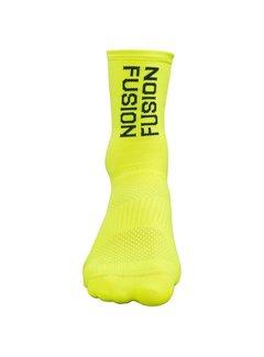 Fusion Fusion PWR Cycle Socke CLX Gelb