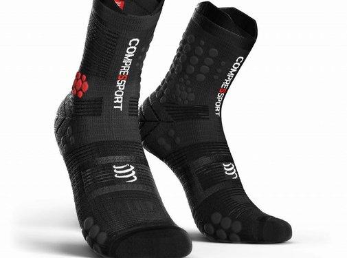 Compressport Compressport Racing Socken V3.0 Trail Smart Schwarz