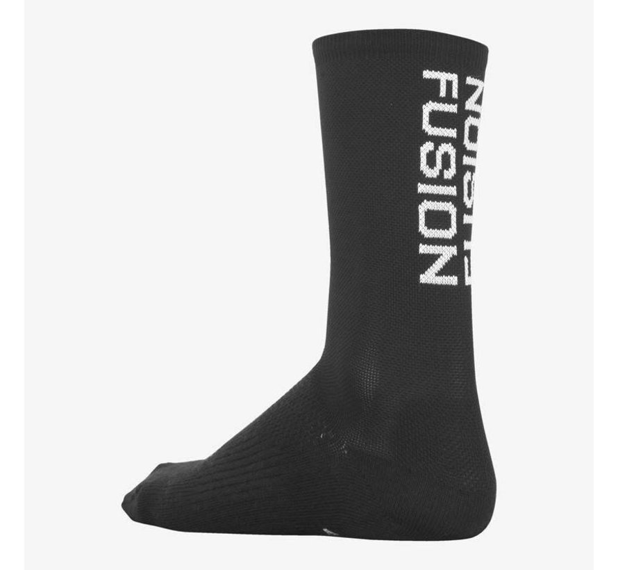 Fusion PWR Cycle Sock MW Black