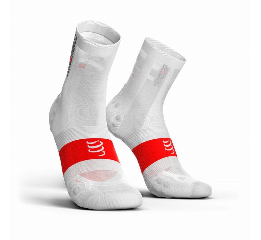 Compressport Racing Socken V3.0 Ultralight Bike Weiß