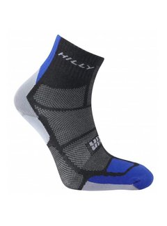 Hilly Hilly TwinSkin Ankle Sock Black