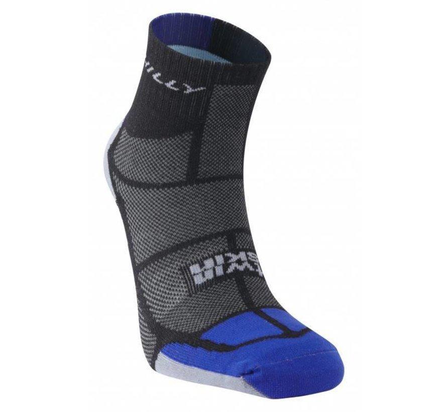 Hilly TwinSkin Ankle Sock Black