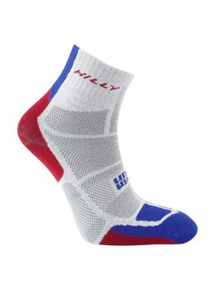 Hilly Hilly TwinSkin Ankle Sock Gray