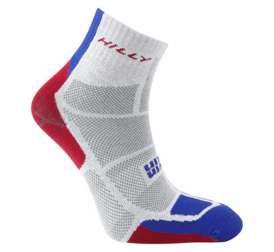 Hilly TwinSkin Ankle Sock Gray