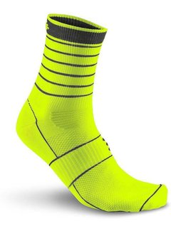 Craft Craft Bike Glow Sock Yellow