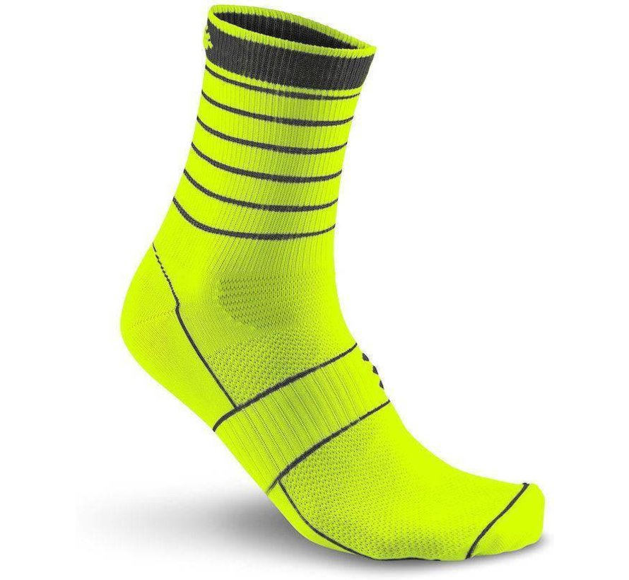 Craft Bike Glow Sock Yellow