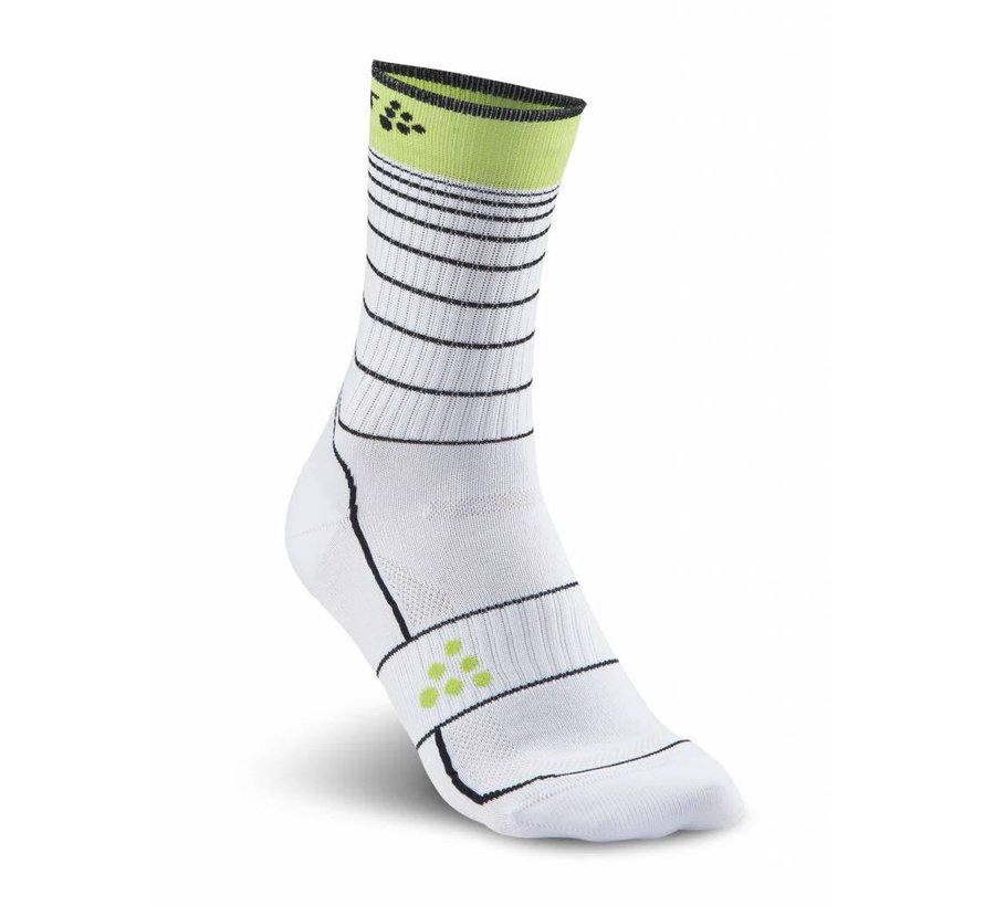 Craft Gran Fondo Socken Weiß