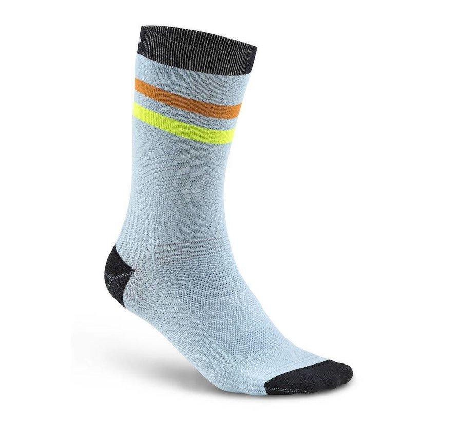 Craft Pattern Sock Blue