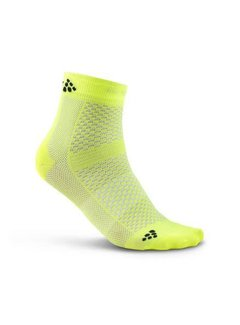 Craft Craft Stay Cool Mid Socken Gelb (2er Pack)