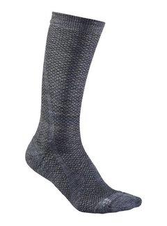 Craft Craft Keep Warm Wool Mid Sock Grijs